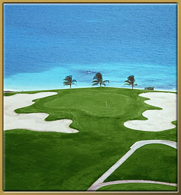 Play Golf and Enjoy the Ocean View